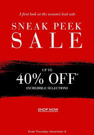 the wait is over sneak k up to 40 off saks fifth avenue email archive