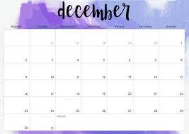 Calendar Doc December 2019 Calendar Word Doc Printable Business