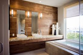 laminate flooring on walls for a warm