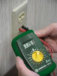 testing an electrical outlet using a digital multimeter simply installing any type of electrical equipment acirc134144 changing