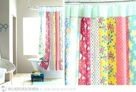 full size of pink fabric shower curtains mold curtain hot bright colorful post multi colored