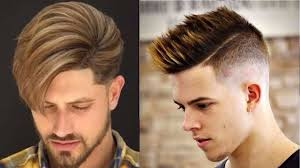 Top 10 New Hairstyles For Men 2017 2018 10 New Trendy Hairstyles