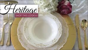 disposable dinnerware for weddings. elegant disposable dinnerware plastic wedding plates posh for weddings tbrb.info