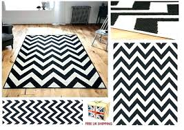 black and white chevron rug chevron rug black and white all sizes utility rugs hall runners black and white chevron rug