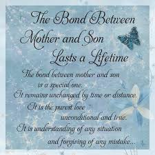 Quotes For Mother And Son Extraordinary The Bond Between Mother And Son