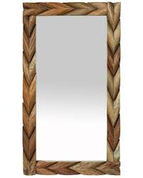 wood framed mirrors. Large-mango-wooden-framed-mirror Wood Framed Mirrors L