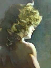 Frazetta Girls - #FrankFrazetta portrait of 'Eleanor Doris ...