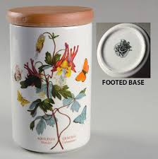7 storage jar lid botanic garden by portmeirion