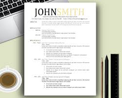 Resume Template Cool Free Resume Example And Writing Download