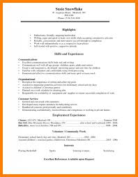 6 Resume Sample For High School Students Free Ride Cycles