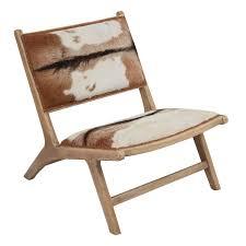 Organic Modern Furniture Organic Modern Hairon Leather Lounger