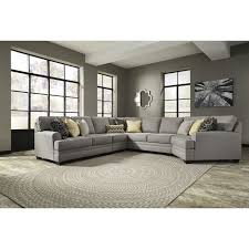 Pewter Bedroom Furniture Ashley Furniture Cresson Oversized Accent Ottoman In Pewter