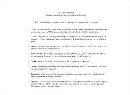 Book Report Outline College Level Engineering Report Format Template And Inspirational Graphic