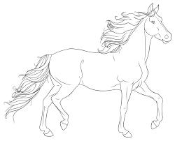 Horse Coloring Pages Realistic 1024826 Attachment Lezincnyccom