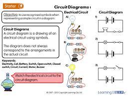Symbols : Electrical Circuit Worksheet Electrical Circuit ...