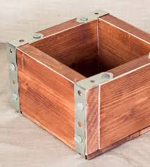 Small Decorative Wooden Boxes Small Rustic Wood Crate Box Home Decor Lighting Hope Farm Co 21