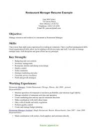 Briliant Cafe Resume Sample Unforgettable Fast Food Server Resume