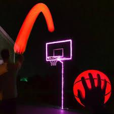 Basketball Hoop Led Light Glowcity Light Up Basketball Hoop Kit With Led Basketball