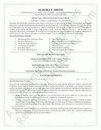 Special Ed Teacher Resume Sample Resume Letters Job Application