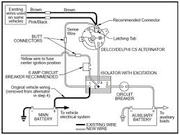 vanagon alternator wiring diagram vanagon image thesamba com vanagon view topic simplest auxiliary battery on vanagon alternator wiring diagram