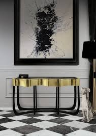 black modern furniture. Delighful Black Luxury Gold And Black Furniture For Modern Interiors 23 Black Furniture  On B