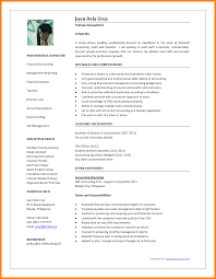 Resume Sample For Accountant 24 Cv Samples For Accountant Theorynpractice 8