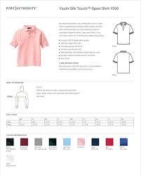 Amazon Com Port Authority Youth Classic Polo Sports Shirt