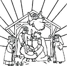 Nativity Colouring Sheets Nativity Coloring Pages Printable