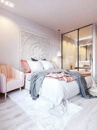 How To Decorate A Bedroom With Pink Walls White And Pink Bedroom ...