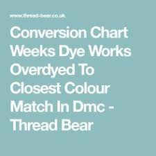 11 Best Conversion Charts Images In 2018 Cross Stitch