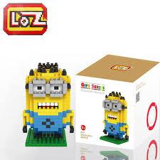 9161 mini loz diamond blocks assembly diy kids toys iblock fun puzzle minions s