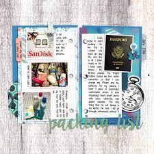 Digital Scrapbook Template My Travel Journal Scrapping With Liz