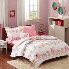 girls twin sheet set amazon com mi zone kids wise wendy twin comforter sets for girls