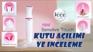 VEET Sensitive Touch Traş Makinesi Kutu Açılımı ve İnceleme - YouTube