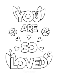 Hearts, flowers, cupid and more, these coloring pages, sheets and pictures will keep the kids happy for hours! 50 Free Printable Valentine S Day Coloring Pages