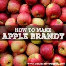apple brandy. how to make apple brandy