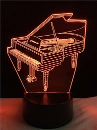 cheap mood lighting. 3D Lamp Piano RGB Changeable Mood Cheap Girls Christmas Holiday/Birthday Lights Lighting