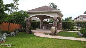 Backyard Covered Patio outdoor covered patio builders in houston stonecraft 5656 by guidejewelry.us