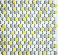 round mosaic tiles glass mosaic tiles for crafts