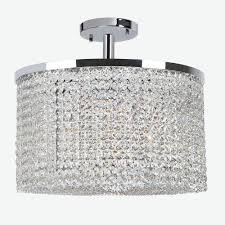 worldwide lighting prism collection 9 light chrome ceiling light