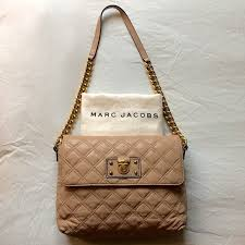 59% off Marc Jacobs Handbags - Marc Jacobs Single Lambskin Leather ... & Marc Jacobs Single Lambskin Leather Quilted Bag Adamdwight.com