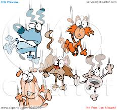 raining cats and dogs clipart. Exellent Dogs Cartoon Raining Cats And Dogs  Types Of Domestic Cats Inside Clipart D
