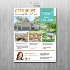 Microsoft Real Estate Flyer Templates Real Estate Flyer Template 2 Sided Adobe Indesign