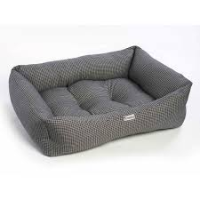 square dog bed. Unique Bed Chilli Dog Black And White Square Sofa Bed And A