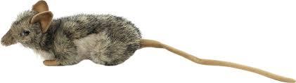 Реалистичная <b>мягкая игрушка Hansa</b> Мышь-землеройка, 18 см