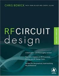 Rf Circuit Design 2nd Edition Pdf Rf Circuit Design Second Edition Chris Bowick Livro
