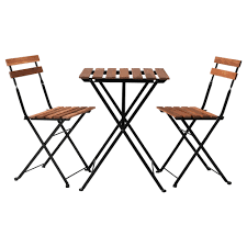 IKEA TRN table+2 chairs, outdoor