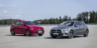 Motor Design Class Mercedes Introduces A And B Class Plug In Hybrids