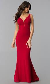 Mermaid Designer Blush Mermaid Long Designer Prom Dress Promgirl