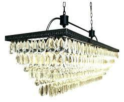 large rectangular crystal chandelier black rectangular chandelier rectangle chandelier rectangular crystal chandelier with black shade